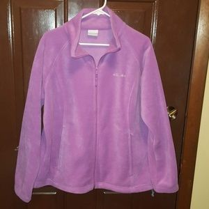 Columbia Fleece. 1X Light Purple.